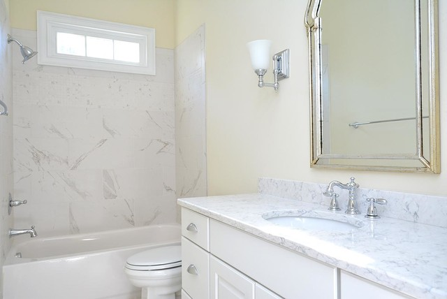 French Provincial Ranch - Bathroom - raleigh - by Grayson Dare Homes ...