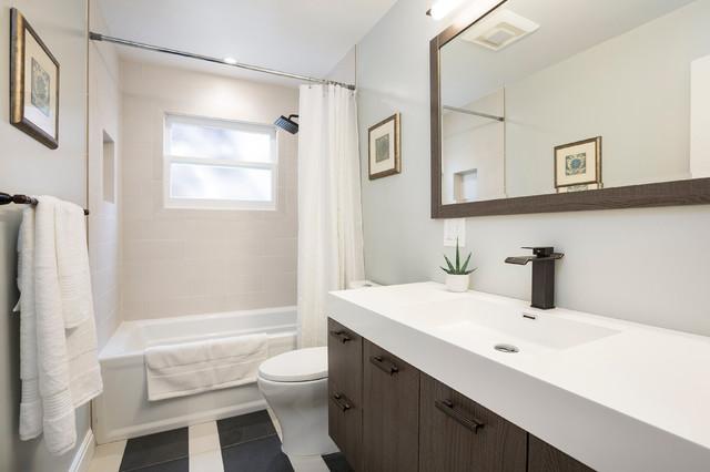 Fresh modern interpretation of a 1915 craftsman for 1915 bathroom photos