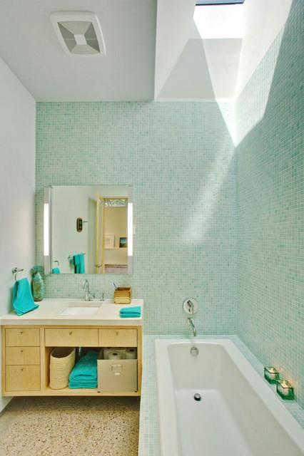 Frick Residence modern-bathroom