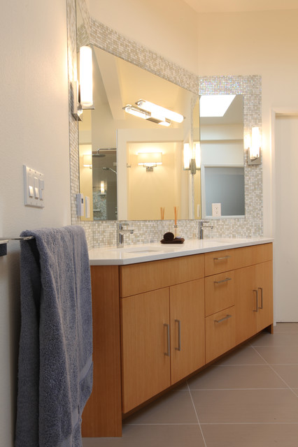 from mid century to contemporary master bathroom midcentury bathroom