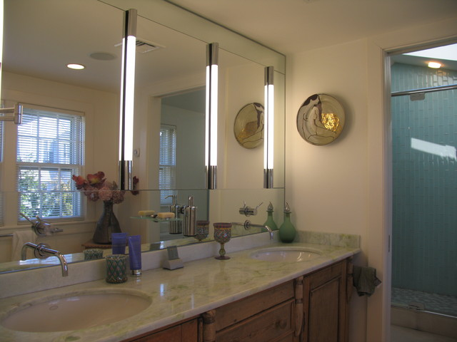 Front Street, Marblehead contemporary-bathroom