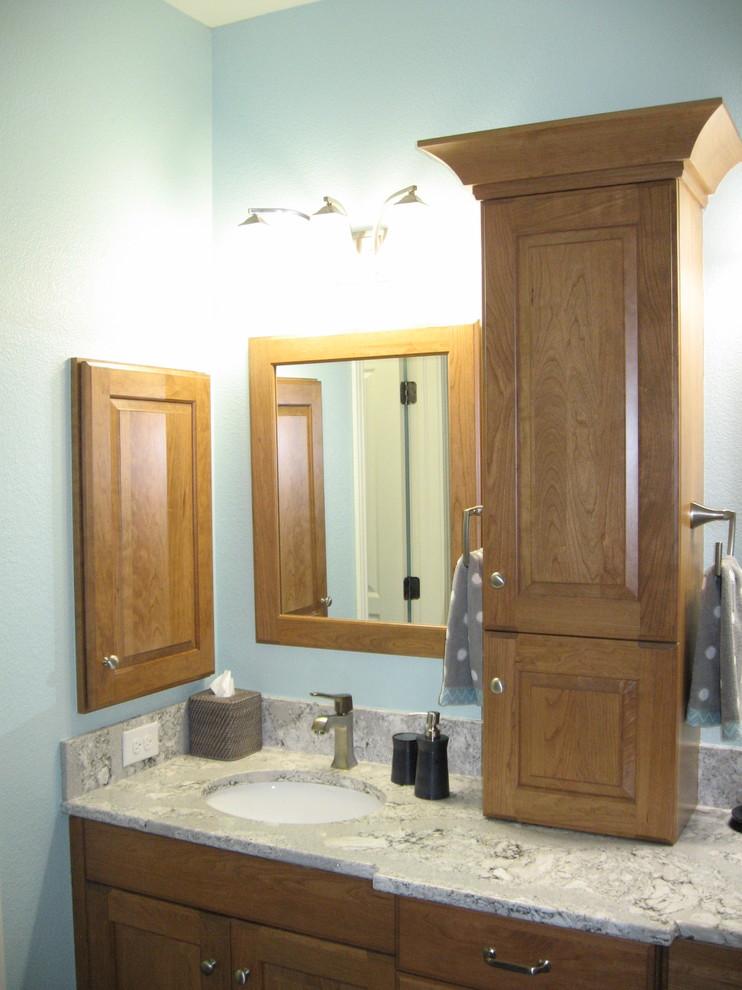Ft. Collins Contemporary Bathroom - Contemporary ...