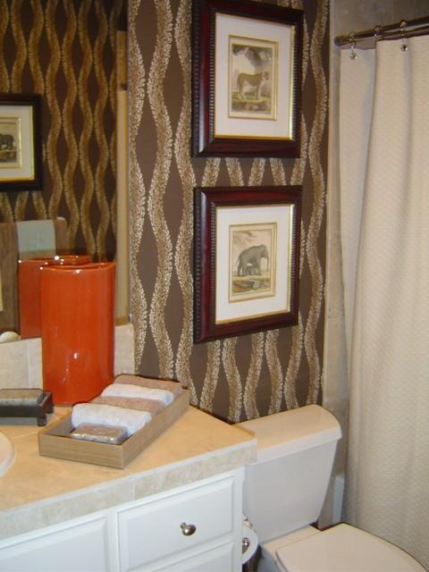 Ft Worth Condo Residence Traditional Bathroom Dallas