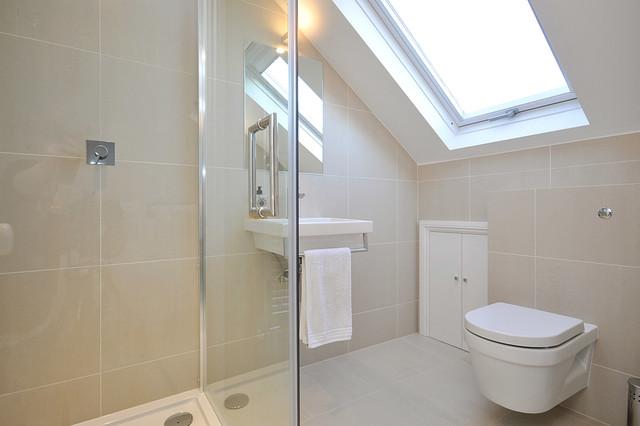 Fuhlam sw6 modern bathroom london by mdsx for Bathroom builders east london