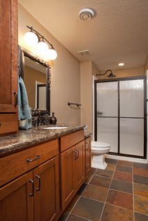 Full basement remodel traditional bathroom for Bathroom remodeling minneapolis mn