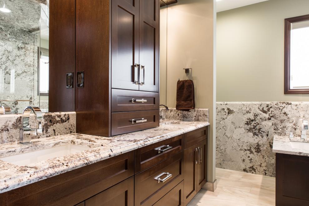 Full Custom Granite Ensuite - Traditional - Bathroom ...