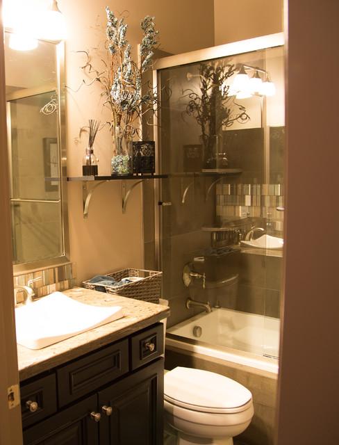 Full Home Remodel In Surprise Az Modern Bathroom Phoenix By Todd Whittaker Drywall Inc