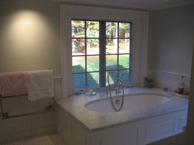 Full House Renovation, Addition, Barn/2 Car Garage - Lincoln traditional-bathroom