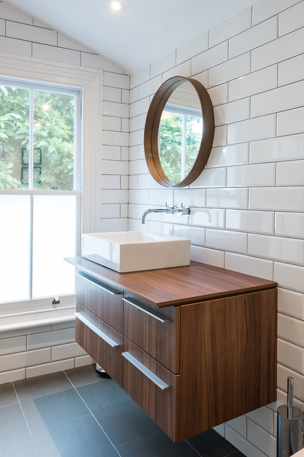 Full Renovation In Oliphant Street Queen 39 S Park Modern Bathroom London By Grand Design