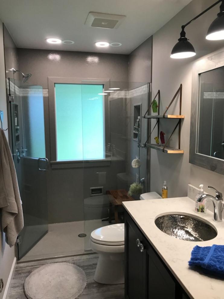 Fun Finishes Bathroom Remodel - Contemporary - Bathroom ...