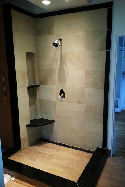 FUN TILE PHOTOS traditional-bathroom
