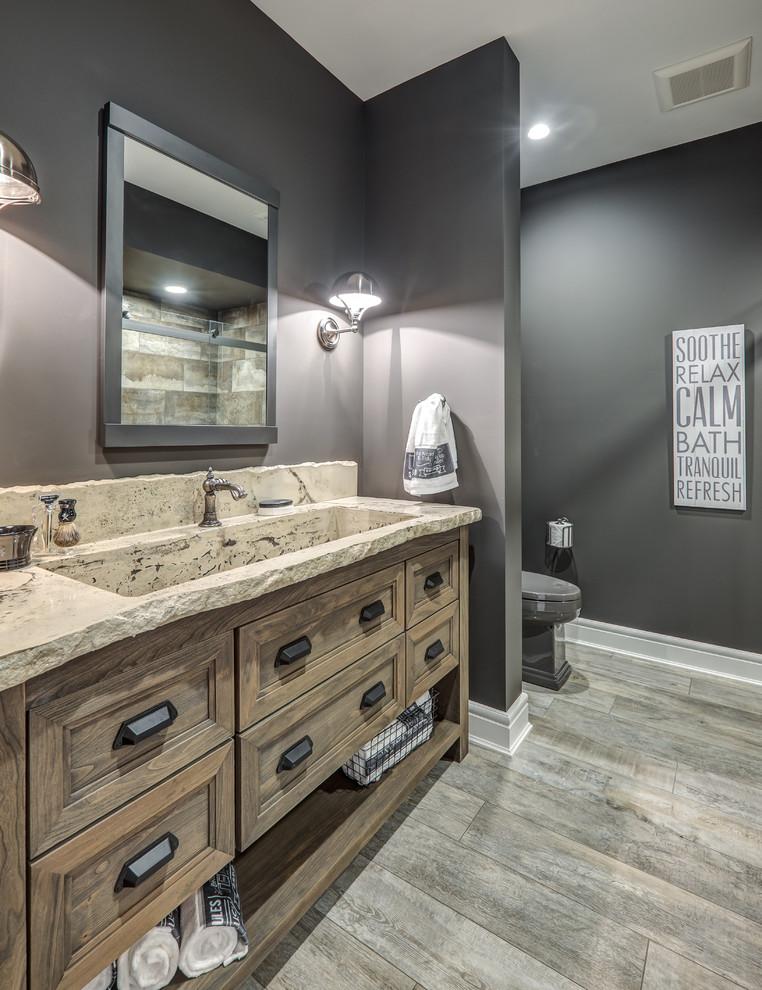 Functional Fabulous Homarama Weathered Bathroom Vanity Rustic Bathroom Columbus By Dura Supreme Cabinetry