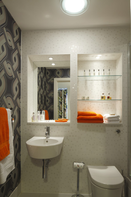 Funky Bathroom Modern Bathroom London By Adrienne