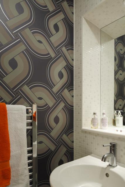Funky Bathroom Modern Bathroom London By Adrienne Chinn Design