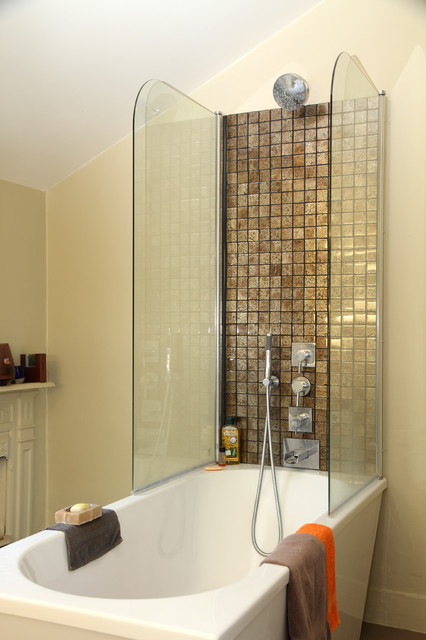 Funky family streatham common london eclectic Bathroom design company london