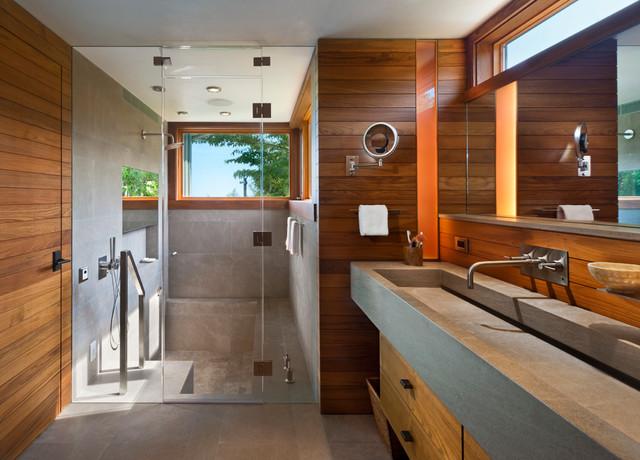 Further Lane - Contemporary - Bathroom - New York - by Blaze Makoid ...