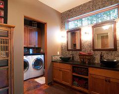 Furwood transitional-bathroom