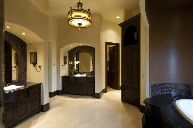Gaillardia show home traditional bathroom