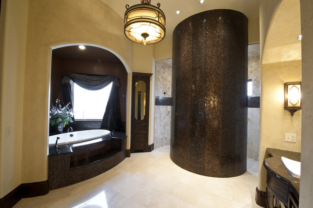 Gaillardia show home traditional-bathroom