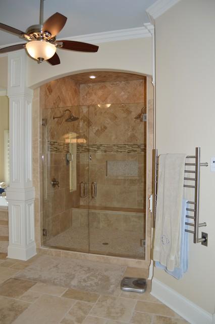 Gainesville ga master suite renovation transitional for Custom home builders gainesville ga
