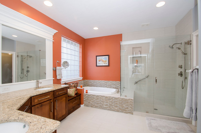 Gallagher master bathroom eclectic bathroom boise for Bath remodel boise