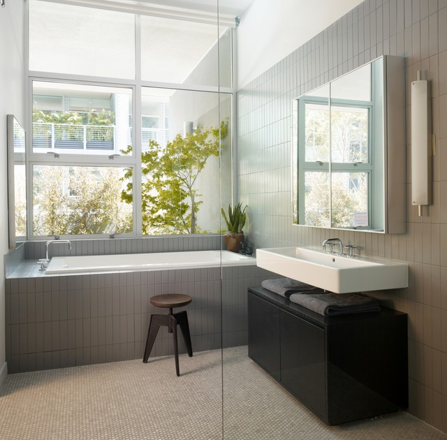 Gallery Loft modern bathroom