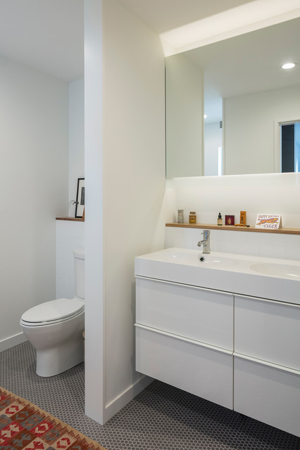 Gallery Residence Contemporary Bathroom Kansas City