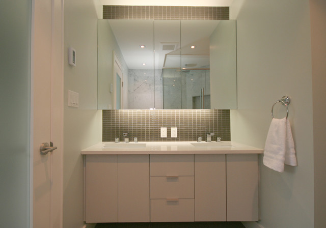 Galley house contemporary bathroom other metro by for Galley style bathroom