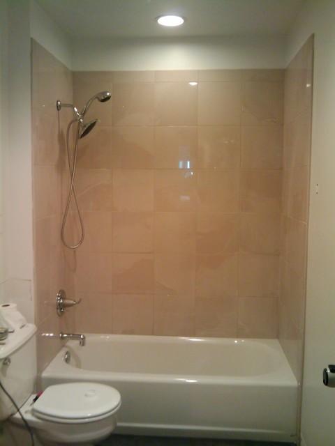 Galveston modern bathroom houston by kb remodeling for Bathroom decor houston