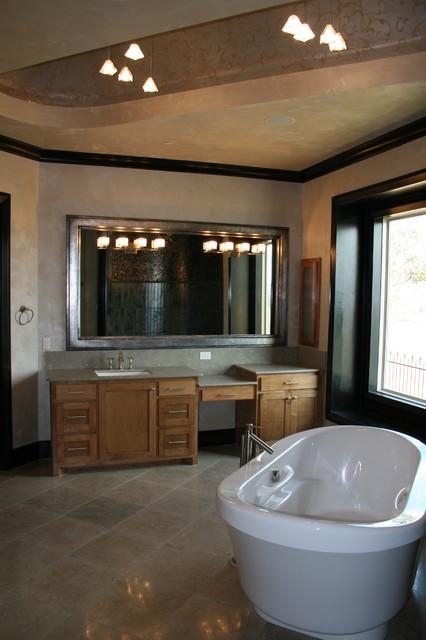 Garabedian properties clariden ranch southlake for Modern ranch bathroom