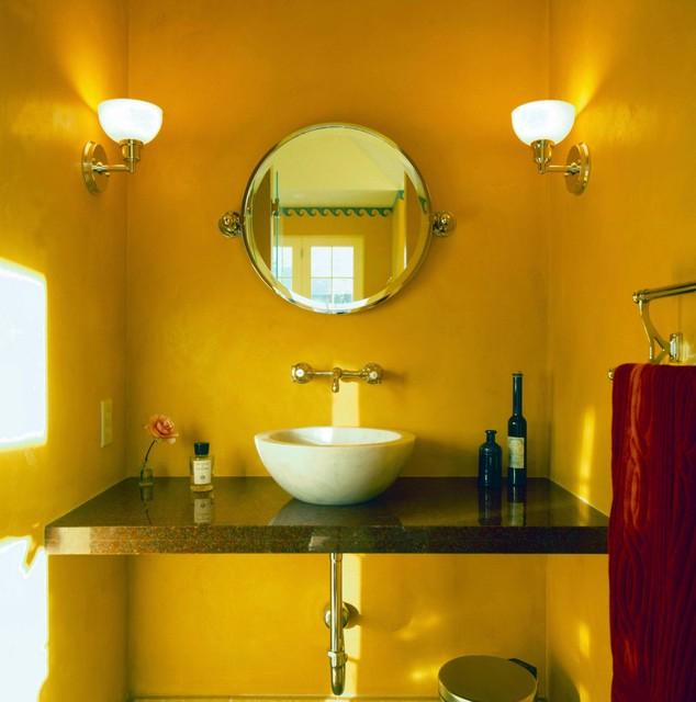 Garage & Spa - Interior mediterranean-bathroom