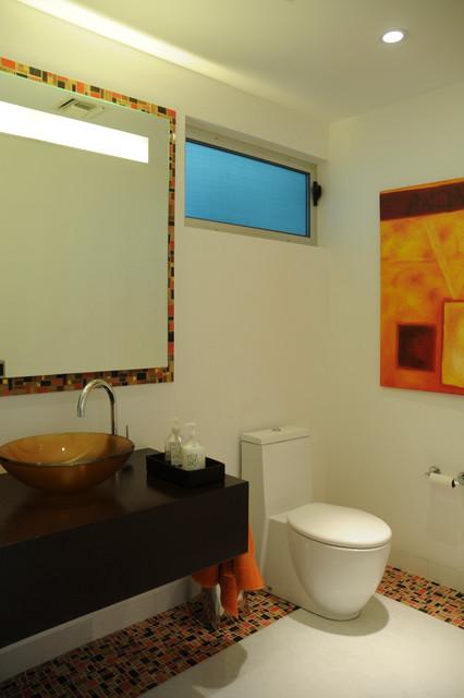 Garcia Cabo House modern-bathroom