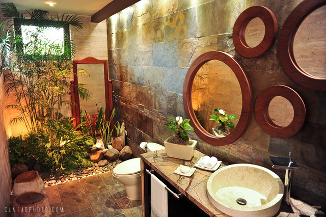 Garden Bathroom tropical bathroom