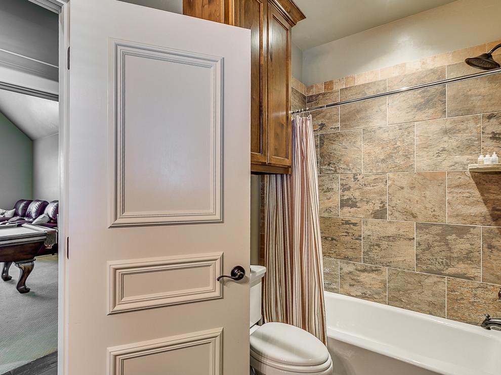 Garden Hill Circle - Rustic - Bathroom - Oklahoma City ...