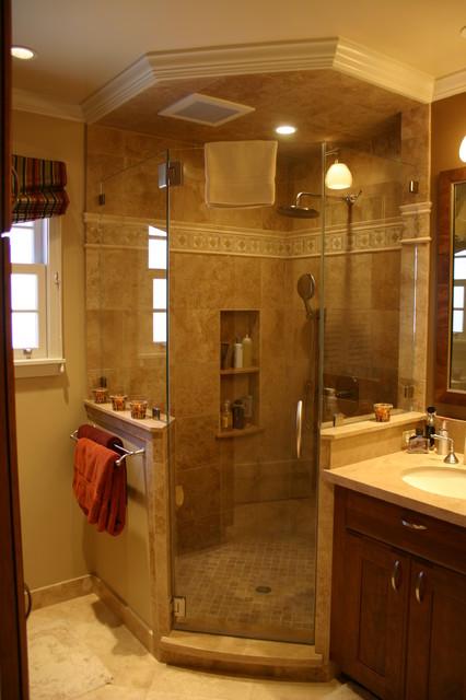 Garden Lane- Master traditional-bathroom