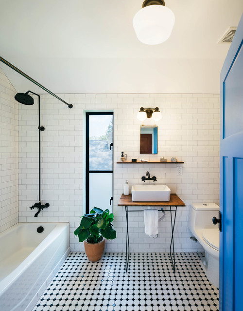 what's your style? industrial bathroom elements