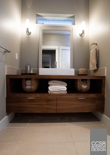 Garden Suite Design contemporary-bathroom