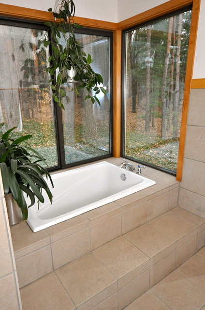 Garden Tub Ideas ideas about garden tub decorating on pinterest patio small bathroom Garden Design With Garden Tub Alcove Modern Bathroom Other Metro By Jaksa With Plants For Landscaping
