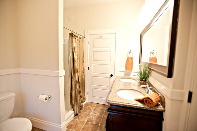 Garfield -1904 Victorian Renovation traditional-bathroom