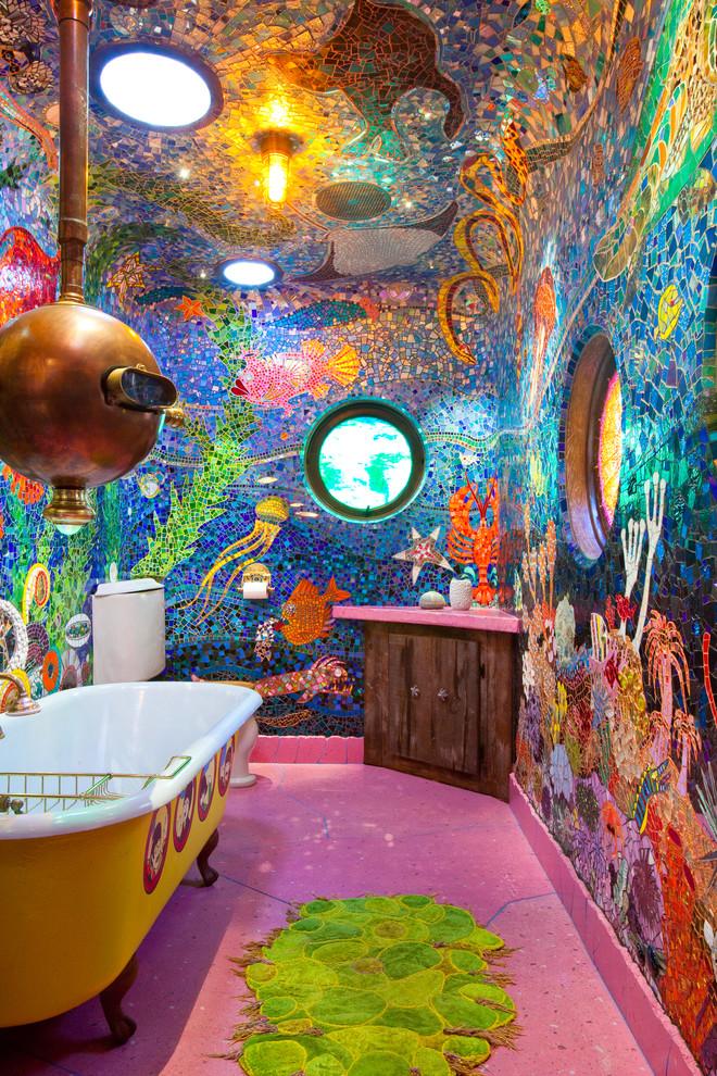 """Gaudi Submarine"" bathroom - San Francisco, CA - Eclectic ..."