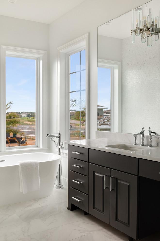 Gemski Residence - Contemporary - Bathroom - Orlando - by ...