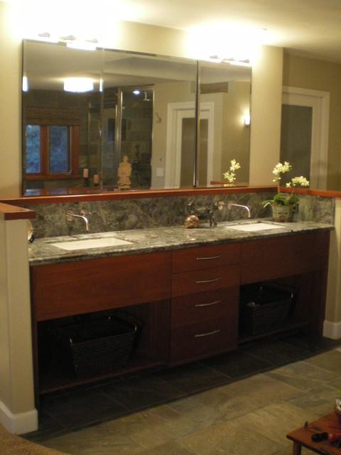 Gentlemans Spa Master Bath contemporary-bathroom
