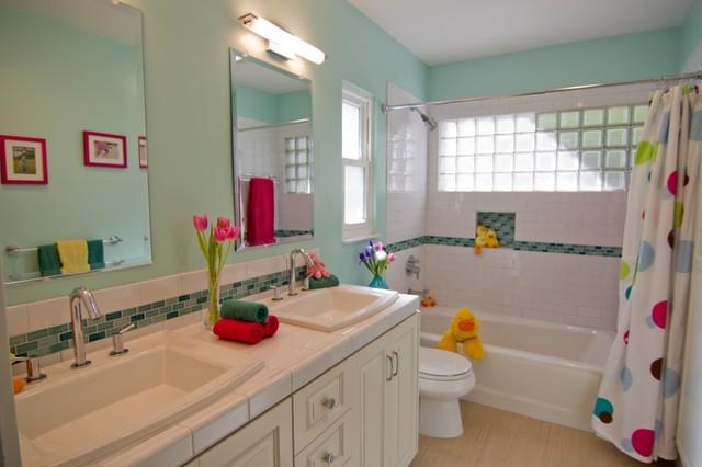 Georgette Westerman Interiors contemporary-bathroom