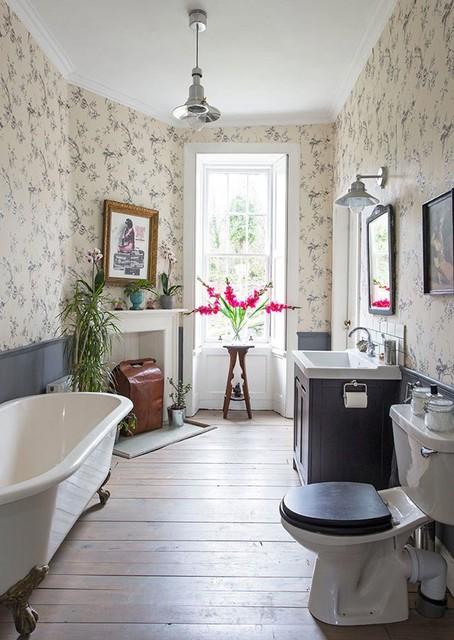 Georgian Flat, Edinburgh - Traditional - Bathroom ...