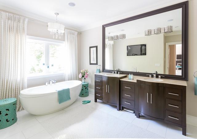 Georgian manor traditional bathroom toronto by for Georgian bathroom ideas