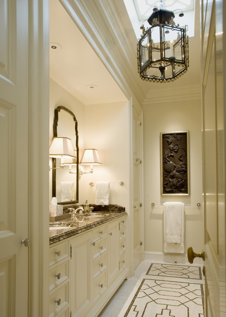 Georgian residence traditional bathroom san for Houzz bathrooms traditional