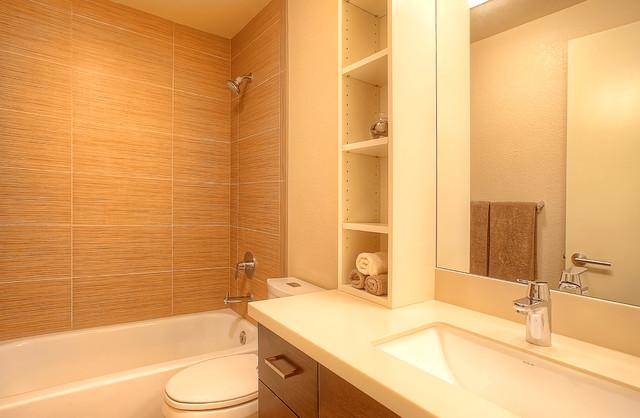Gig Harbor Condo Contemporary Bathroom Seattle By Brett Marlo Designs