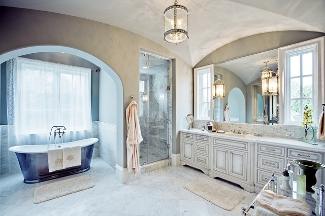 GILLON | master bath traditional bathroom