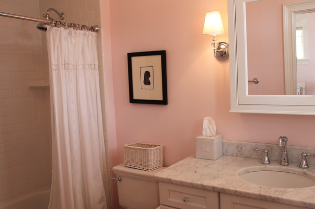 Girl's Bathroom - Traditional - Bathroom - raleigh - by Abode Interiors