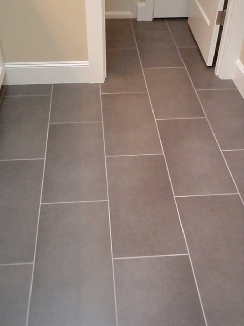 Rectangle Tile Kitchen Floor